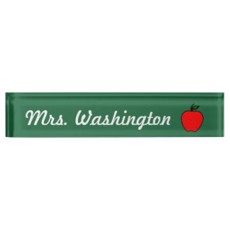 Teacher Desk Nameplate