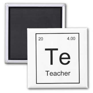 Teacher Element Refrigerator Magnets