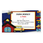 Teacher Elementary School Double-Sided Standard Business Cards (Pack Of 100)