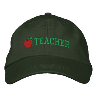 Teacher Embroidered Hat