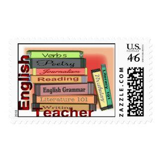 TEACHER ENGLISH stamps