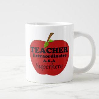 Teacher Extraordinaire Giant Coffee Mug
