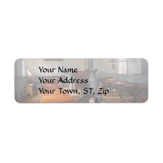 Teacher - First day of school Return Address Label