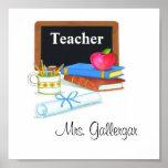 Teacher Frame Poster