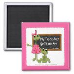 Teacher Frog Magnet
