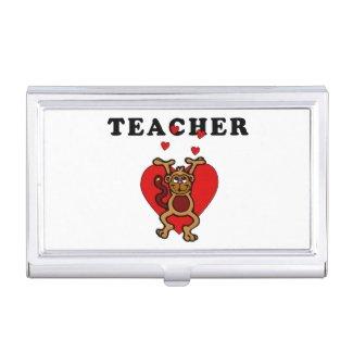 Teacher Fun Business Card Holders
