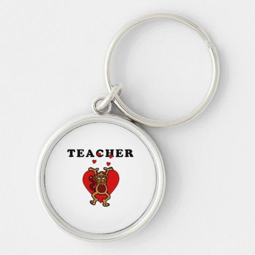 Teacher Fun Key Chains