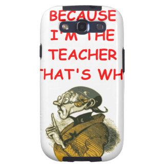 teacher galaxy s3 cover