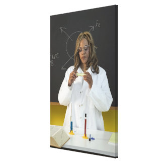 Teacher Gallery Wrapped Canvas