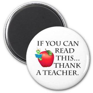 Teacher Gift 2 Inch Round Magnet