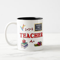 Teacher Gift Mug Teachers Do It With Class mug