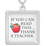 Teacher Gift Pendants