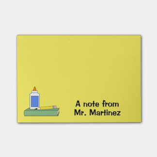 Teacher Gift Personalized A Note From Classroom Post-it® Notes