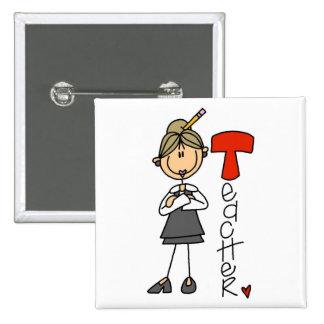 Teacher Gift Pinback Button