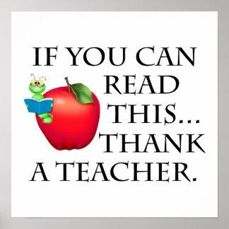 Teacher Gift Poster