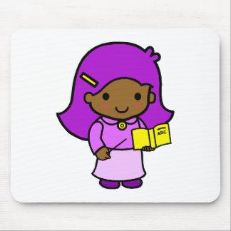 Teacher Girl Mouse Pad