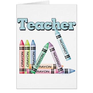 Teacher Greeting Card