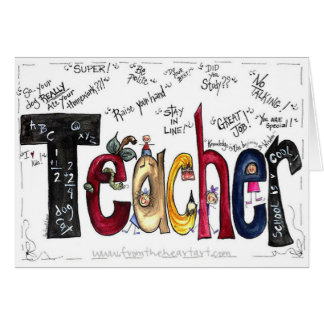 Teacher Greetings Card