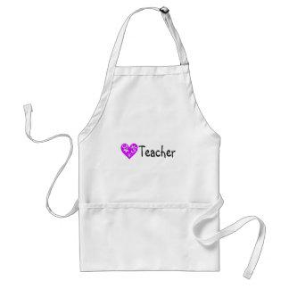 Teacher Heart 2 Adult Apron