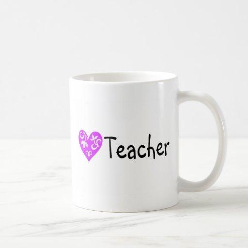 Teacher Heart 2 Coffee Mug