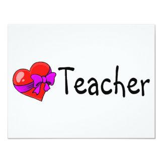 Teacher Heart Card