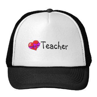 Teacher Heart Trucker Hat