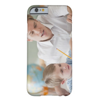 Teacher helping student with homework barely there iPhone 6 case