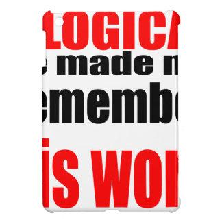 teacher illogical remember school memory intellige iPad mini cover
