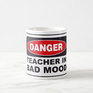 Teacher in Bad Mood Coffee Mug