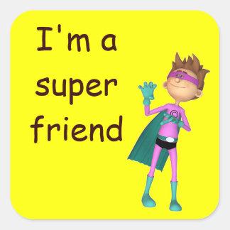 Teacher inspirational freindship sticker