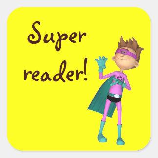 Teacher inspirational reading sticker