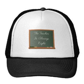 Teacher Is Right Trucker Hat