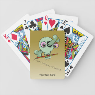 Teacher Joke Play On Words Bicycle Playing Cards