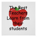 Teacher learn from Students Poster
