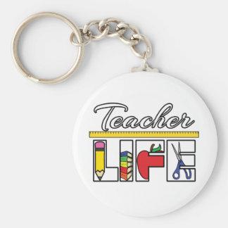 Teacher Life Keychain