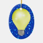 Teacher Light Bulb Christmas Tree Ornaments