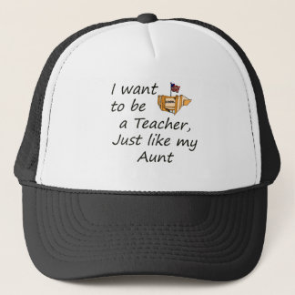 Teacher like Aunt Trucker Hat