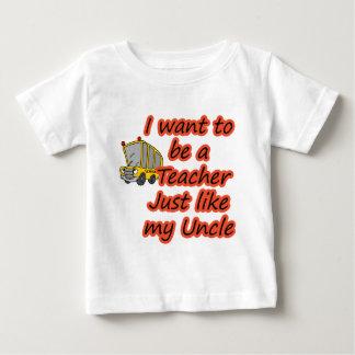 Teacher like my Uncle Baby T-Shirt