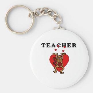 Teacher Love Keychain