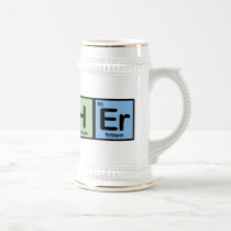 Teacher made of Elements Beer Stein