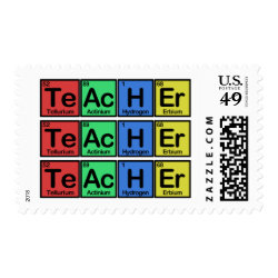 Medium Stamp 2.1' x 1.3' with Teacher design
