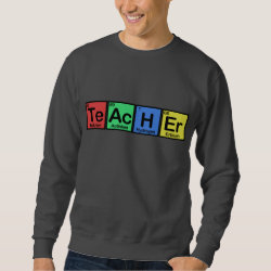 Men's Basic Sweatshirt with Teacher design