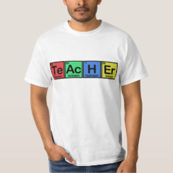 Men's Crew Value T-Shirt with Teacher design