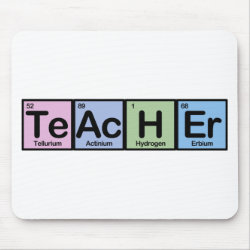 Mousepad with Teacher design