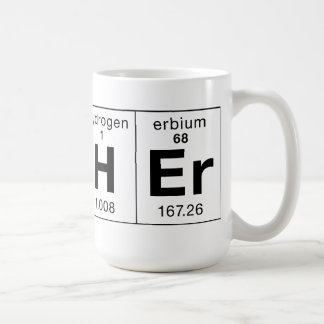 Teacher Made of Elements Mug