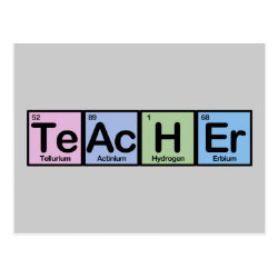 Teacher Postcard