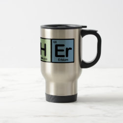Travel / Commuter Mug with Teacher design