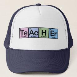 Trucker Hat with Teacher design