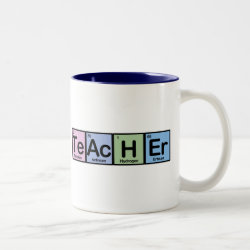 Two-Tone Mug with Teacher design