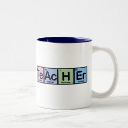 Two-Tone Mug with Teacher design